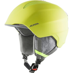 Alpina Grand Ski Helmet Kids, neon/yellow